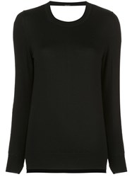 Adam By Adam Lippes Lace Detail Knit Jumper 60