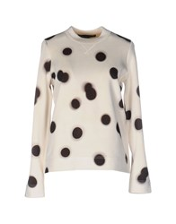 Marc By Marc Jacobs Sweatshirts Ivory
