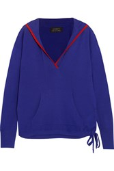 J.Crew Hooded Cashmere Sweater Blue Usd