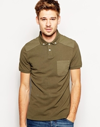 Jack Wills Langold Polo Shirt Green