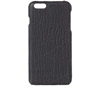 Rick Owens Textured Leather Iphone 6 Plus Case Black