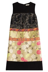 Etro Dress With Patchwork Paneling Multicolor