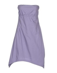 Manila Grace Short Dresses Lilac