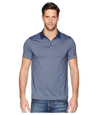 Perry Ellis Essential End On End Polo Ink Clothing Navy