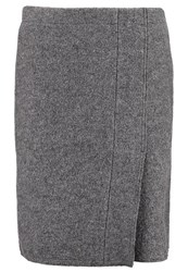 Opus Ragusa Wrap Skirt Raven Grey
