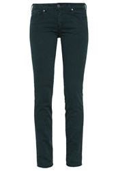 Cimarron Jackie Raso Slim Fit Jeans Midnight Green Dark Green