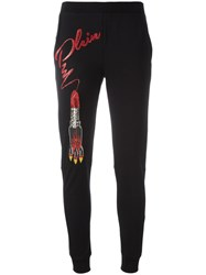 Philipp Plein Ginger Track Pants Black