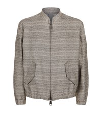 Vivienne Westwood Tough Woven Cotton Jacket Male Beige