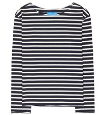 Mih Jeans Marniere Striped Sweater Blue