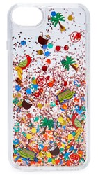 Tory Burch Island Confetti Iphone 7 Case Clear Multi