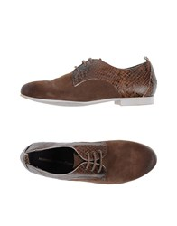 Manufacture D'essai Lace Up Shoes Dark Brown