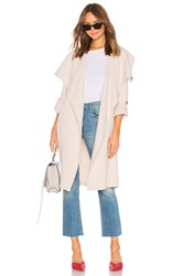 Soia And Kyo Ornella Trench Coat Beige