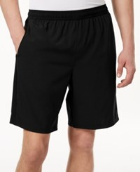 Ideology Id Men's Contrast Woven 9 Shorts Created For Macy's Deep Black