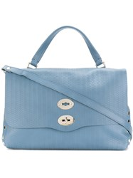Zanellato Postina Tote Women Leather One Size Blue