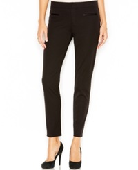 Sanctuary Faux Leather Trim Pants