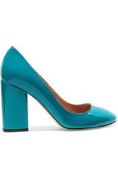 Red Valentino Patent Leather Pumps Teal