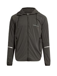 Peak Performance Attached Hood Jacket Black Grey