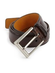 Saks Fifth Avenue Leather Belt Brown