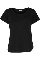 Lna Crescent Cotton Jersey T Shirt