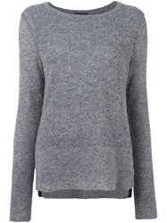 Rag And Bone Classic Pullover Grey