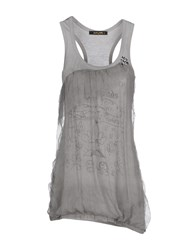 Romeo Y Julieta Topwear Vests Women Light Grey