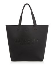 Seafolly Carried Away Lux Tote Black