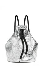 Kendall Kylie Meadow Convertible Backpack Silver