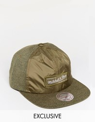 Mitchell And Ness Cap 6 Panel Exclusive To Asos Green