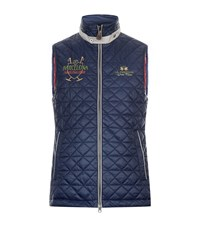 La Martina Quilted Vest Male Navy