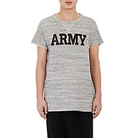 Nlst Men's Army Short Sleeve Sweatshirt Grey