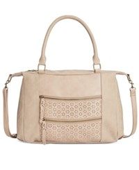 Styleandco. Style Co. Airyell Daisy Perforated Satchel Only At Macy's Shell