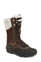 Merrell Women's Aurora Tall Waterproof Snow Boot Espresso Leather