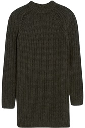 Nlst Fisherman Chunky Knit Sweater Dress