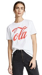6397 Ola Tee New White
