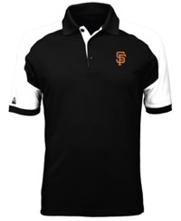 Antigua Men's San Francisco Giants Century Polo Black White