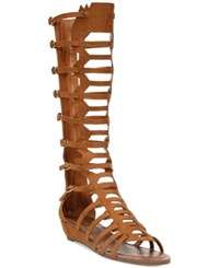 Carlos By Carlos Santana Wavery Gladiator Sandals Women's Shoes Tawny Tan