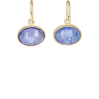 Judy Geib Women's Lovely Tanzanite Drop Earrings No Color