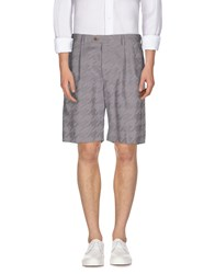Umit Benan Trousers Bermuda Shorts Men Dove Grey