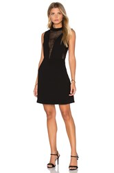 Deby Debo Elisa Sequin Insert Dress Black