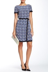Orla Kiely Silk Buckle Dress Blue