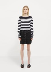 Organic By John Patrick Button Skirt Black