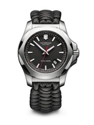 Victorinox I.N.O.X. Black Paracord Strap Watch
