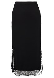 Yas Tall Yasreco Pencil Skirt Black