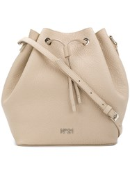 N 21 No21 Drawstring Bucket Bag Nude And Neutrals