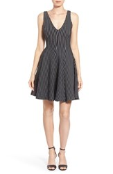 Women's Dex Jacquard Knit Fit And Flare Dress