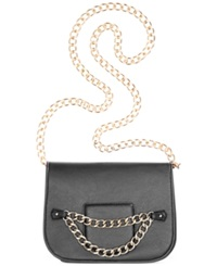 Rampage Crossbody With Chain Strap Black