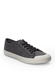 Penguin Classic Lace Up Sneakers Grey Black