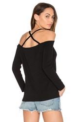 1.State Cross Back Top Black