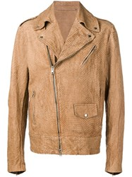 Salvatore Santoro Textured Jacket Neutrals