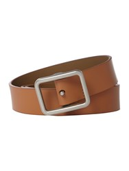 Peter Werth Buckley Saddle Leather Belt Tan